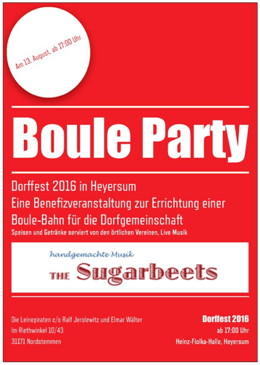 Boule Party 2016